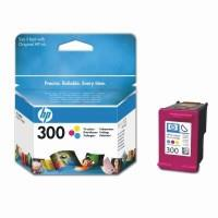 HP no.300 Tri-colour Ink Cartridge with Vivera Inks (165 pages)