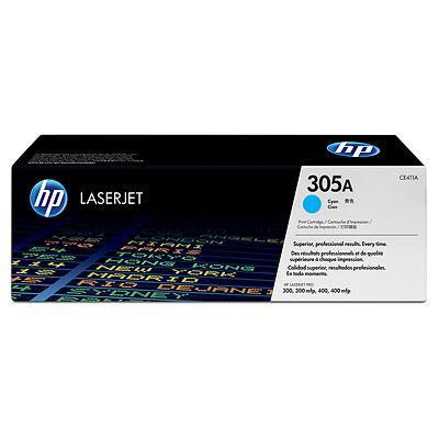 HP 305A LJ Pro 400/300, Color M351/M375/M475/M451 series Toner Cyan (2.600 pages)