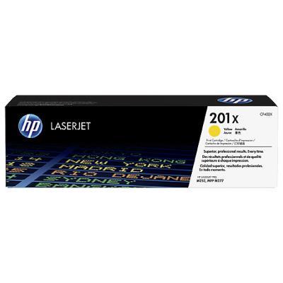 HP 201X High Yield Yellow Original LaserJet Toner Cartridge 2,300 pages