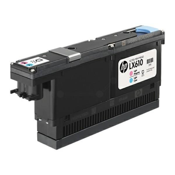 HP LX610 Lt Magenta/Lt Cyan Scitex Printhead