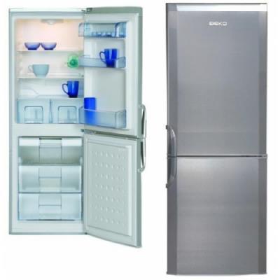 Refrigerator BEKO CSA24022S 152 cm Inox A+