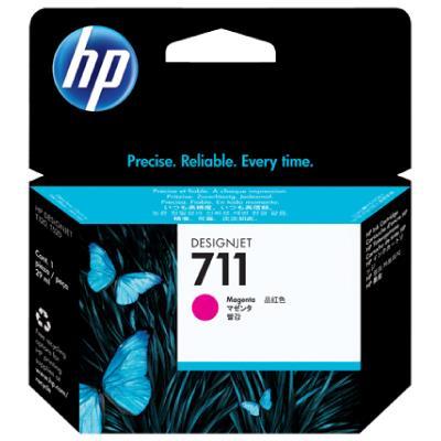 HP no.711 Magenta Ink Cartridge 29-ml 3-pack