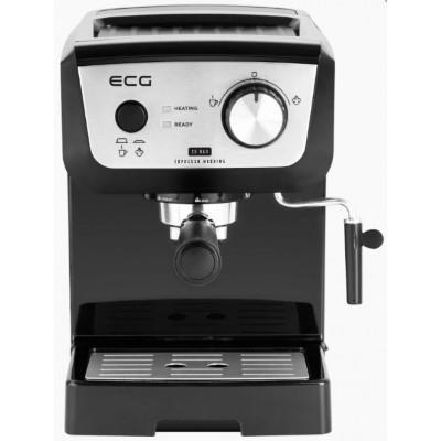 ECG Espresso machine ECG ESP 20101 BLACK, 20 Bar, Pre-Brew Function, Steam wand, Black color