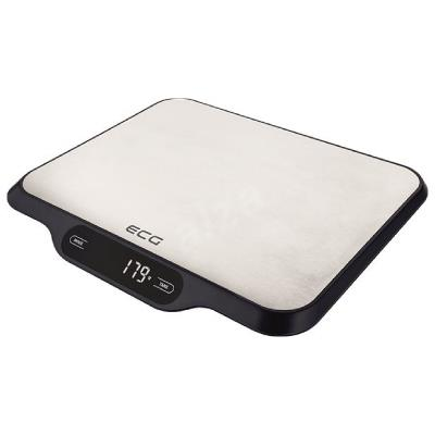 ECG ECGKV215S Food Scales, Impact resistant safety glass, LCD display, Maximum capacity 15 kg