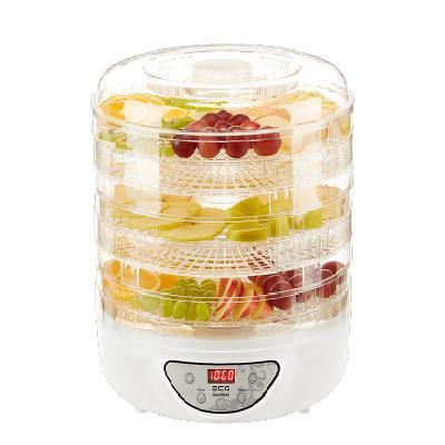 ECG Food dehydrator ECG SO 570, LED display, 5 trays - diameter 30.4 cm, temperature control (35-70°C), 200 – 240W