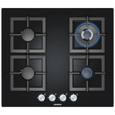 Hob SIEMENS EP616HB21E 60 cm Gaz Black Glass