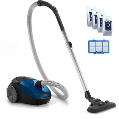 Philips PowerGo Vacuum cleaner with bag FC8245/09 Allergy filter 3L Replacement Kit