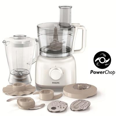 Philips Daily Collection Food processor HR7628/00 650 W Compact 2 in 1 setup 2.1 L bowl