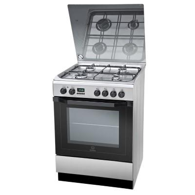 Cooking INDESIT I6GMH6AG(X)U 60 cm Gaz/Electric Inox