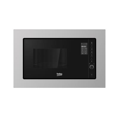 BEKO microwave MOB20231BG/MOK20232X, Built in, 20 L, Inox/Black color
