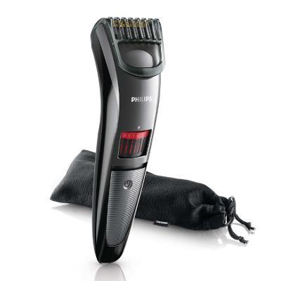 Philips Beardtrimmer series 3000 Beard and stubble trimmer QT4015/16 0.5mm precision settings Advanced titanium blades