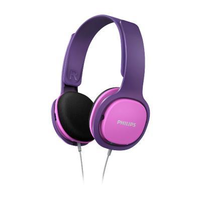 Philips Kids headphones SHK2000PK On-ear Pink & purple