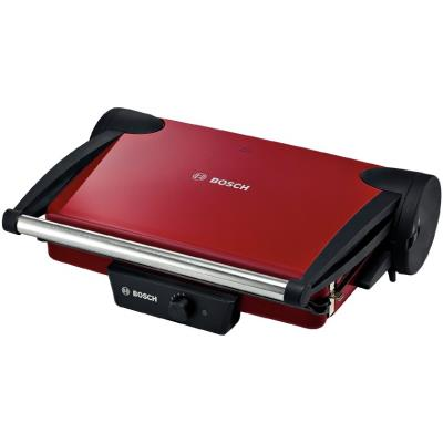 Bosch Contact grill TFB4402V, 1800 W, multifunctional, color: red