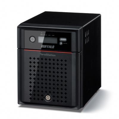NAS TeraStation 4400 diskless/4 bay/2xGE/Atom 2.13GHz/2GB RAM/USB3.0/iSCSI - RAID 0/1/5/6/10