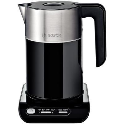 Bosch TWK8613P Water Kettle Cordless 360, 1.5L, 2400W, TemperatureControl, 30min KeepWarm, Automatic shut-off
