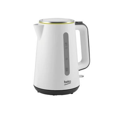 BEKO kettle WKM4321W, 2400W, 1.7 L, White color